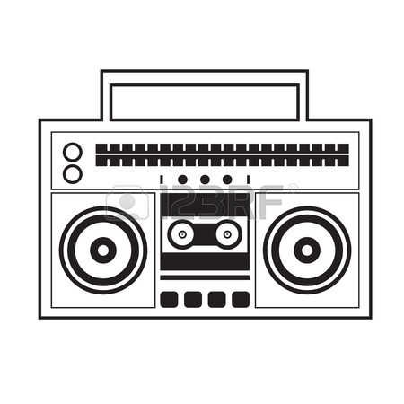 236 Ghetto Blaster Stock Illustrations, Cliparts And Royalty Free.