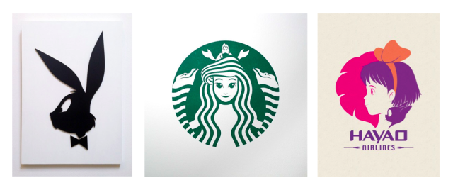 Pop artist makes familiar logos even better with Ghibli.