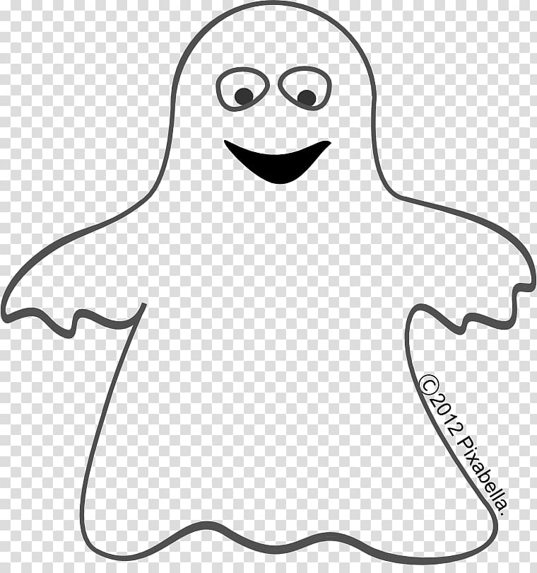Casper Ghost Black and white , Cute Ghost transparent.