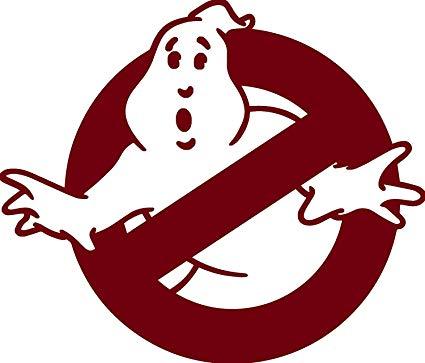 Amazon.com: Ghost Buster Movie Logo LOGO 5.5\