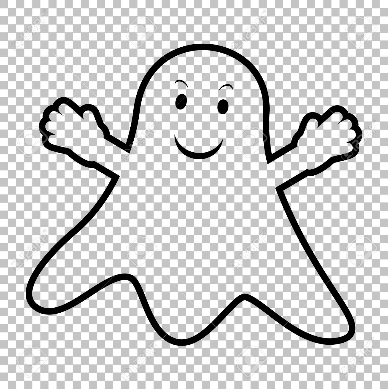 Ghost Clipart With No Background.