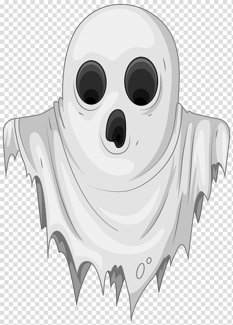 White ghost illustration, Ghost , Haunted Ghost transparent.