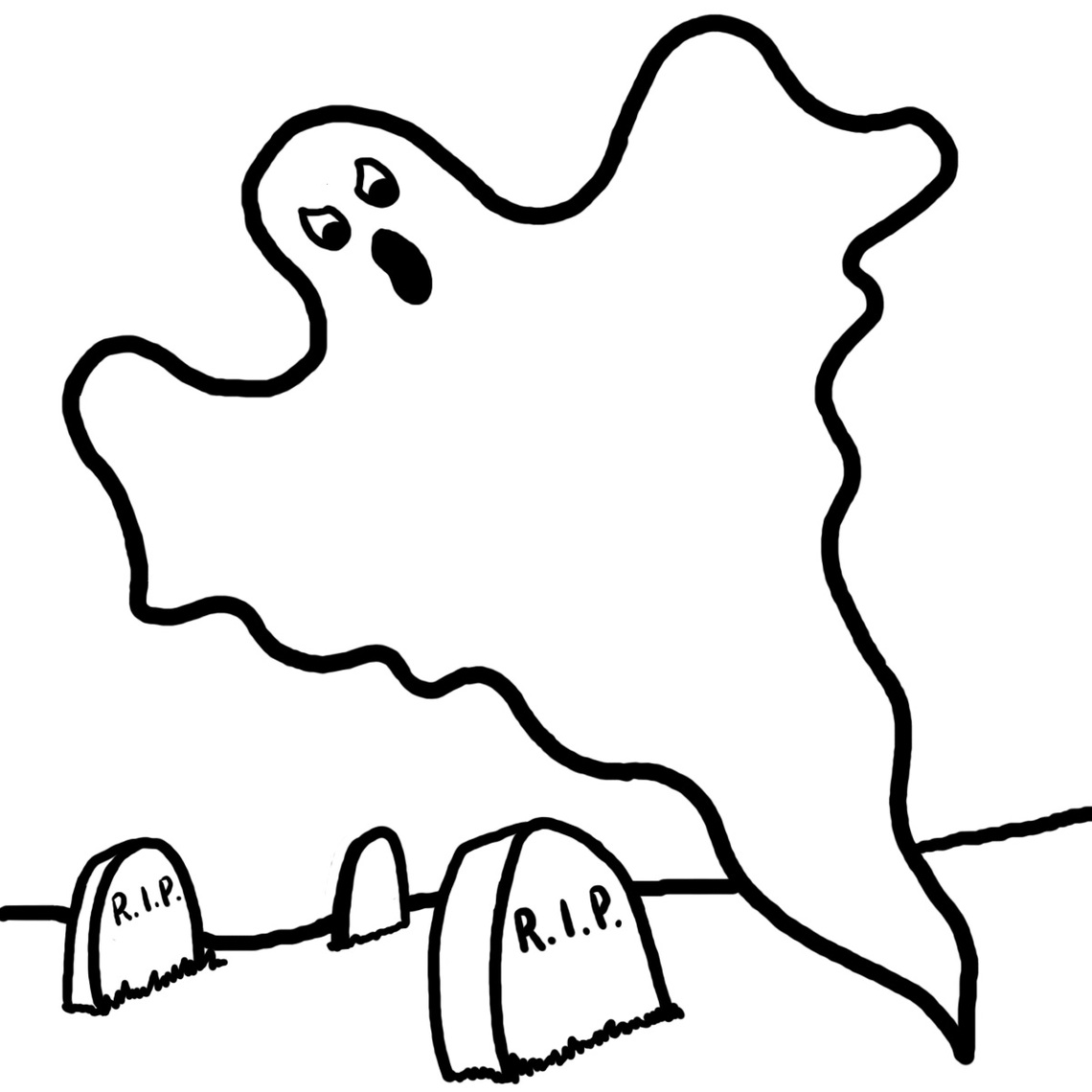 Ghost free to use clipart.