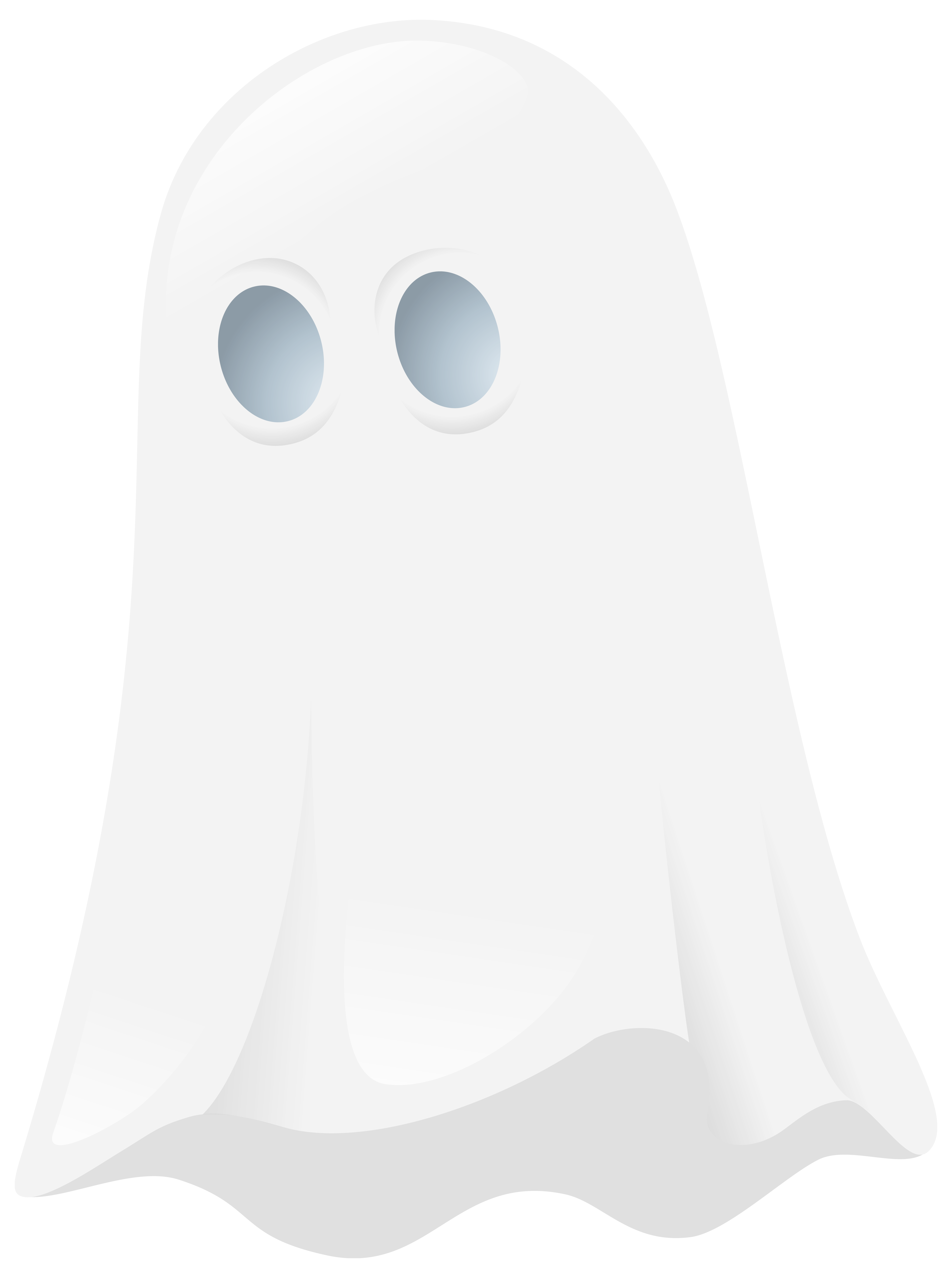 Transparent Ghost PNG Clipart Image.