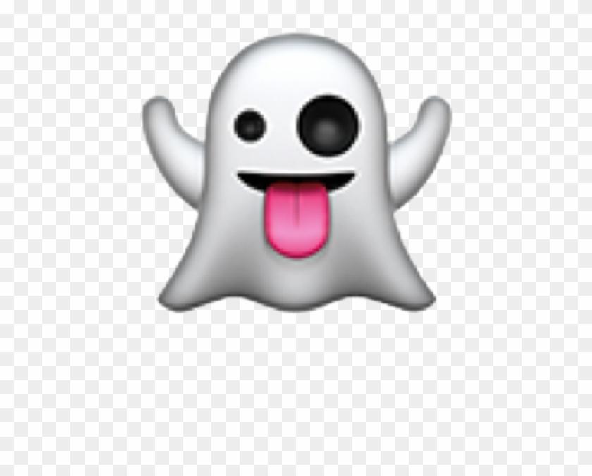 Ghost Clipart Emoji.