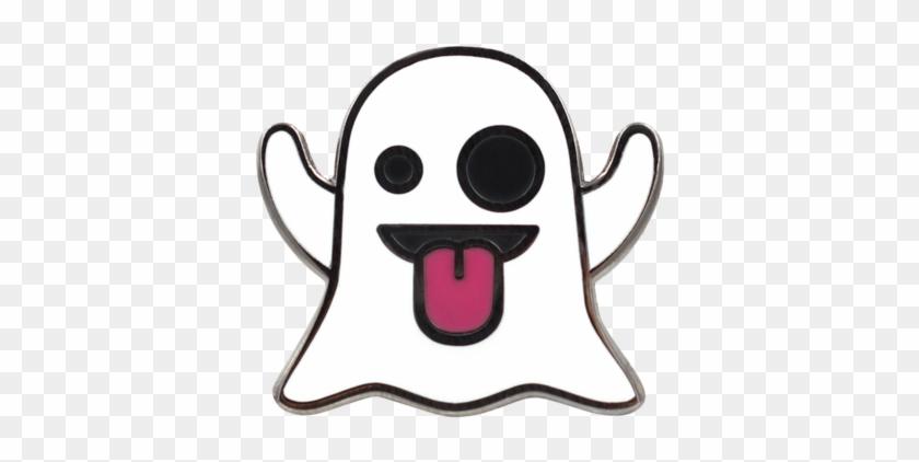 Ghost Emoji, HD Png Download.