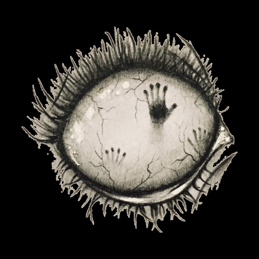 eye zombie ghost.