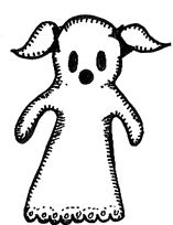 Girl Ghost Clipart.