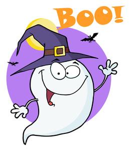 Boo Clipart.