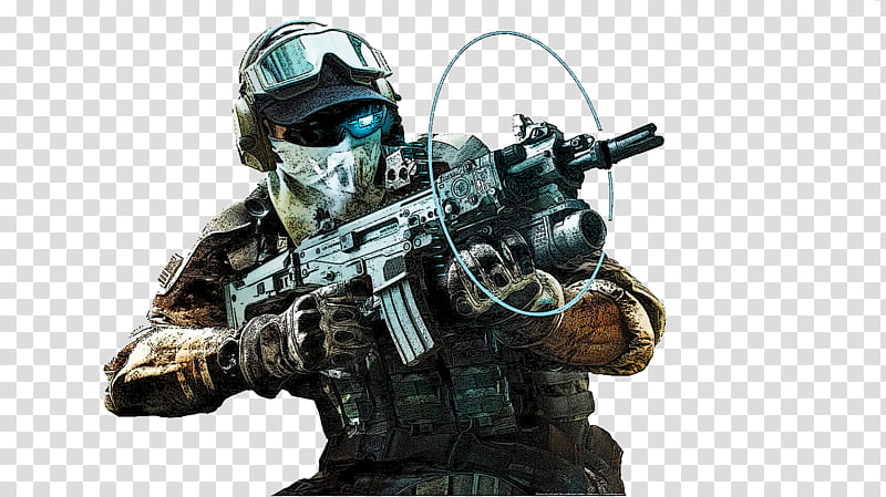 Ghost Recon Future Soldier , soldier holding rifle.