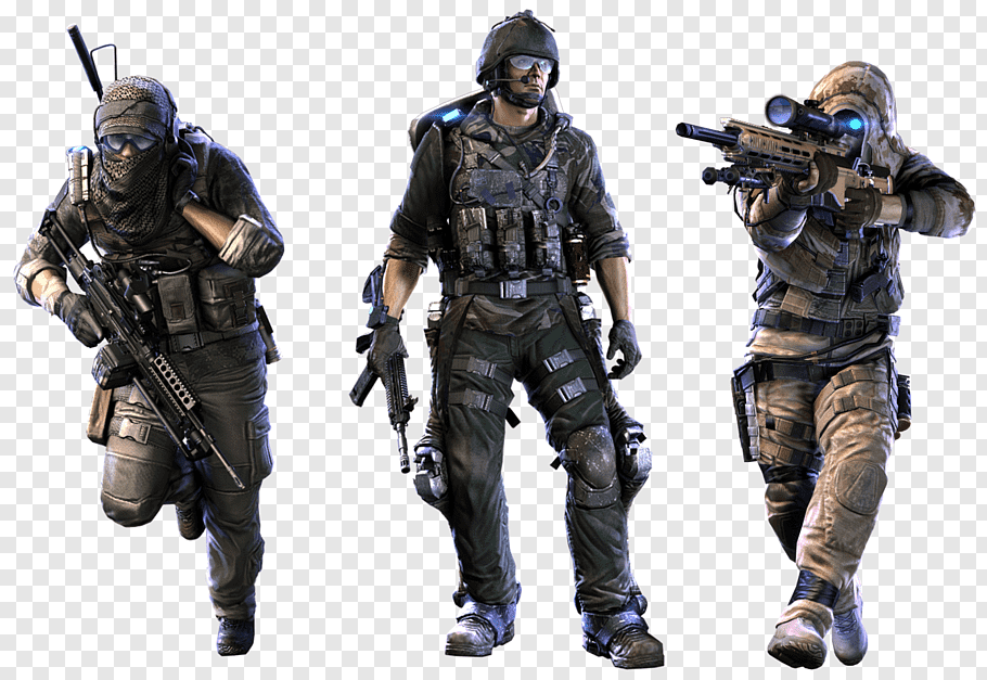 Tom Clancys Ghost Recon Phantoms cutout PNG & clipart images.
