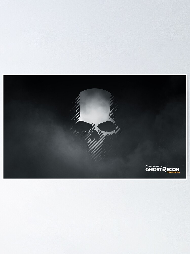 tom clancy\'s ghost recon wildlands Skull logo.