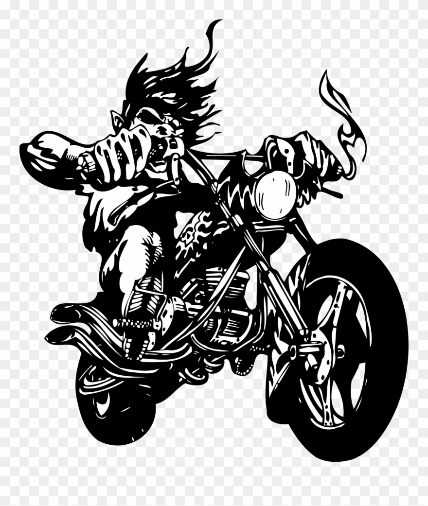 Wall Decal Sticker Motorcycle Label.