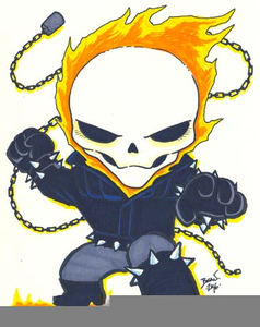 Ghost Rider Clipart.