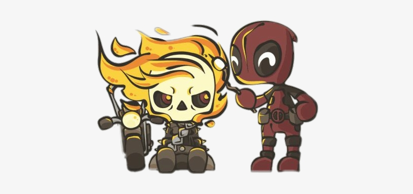 Picture Transparent Stock Deadpool Clipart Ghost Rider.