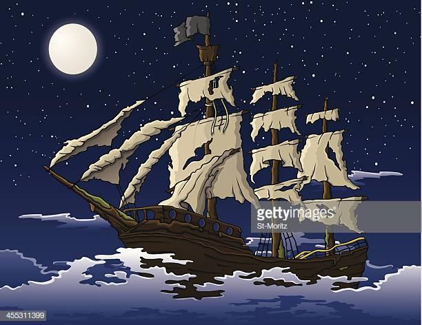 18 Ghost Ship Stock Illustrations, Clip art, Cartoons & Icons.