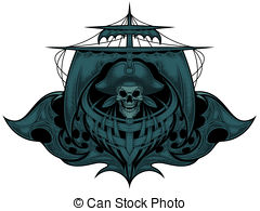 Ghost ship Illustrations and Clipart. 222 Ghost ship royalty free.