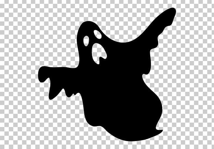 Silhouette Ghost PNG, Clipart, Animals, Black, Black And White.