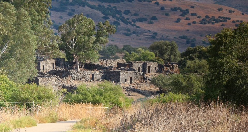 Free photo: Deserted Ruins, Village, Ghost Town.