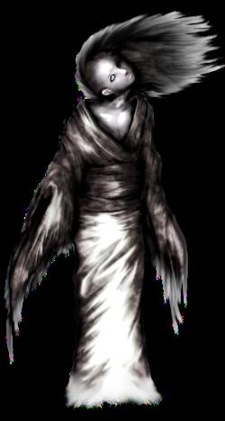 ghost in dark clipart 33821.