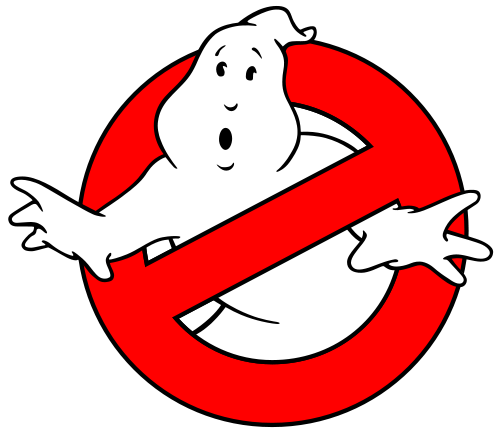Ghostbusters logo.