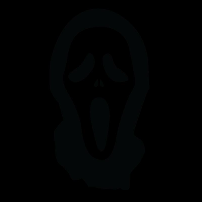 Ghostface Decal Sticker Jason Voorhees Freddy Krueger.