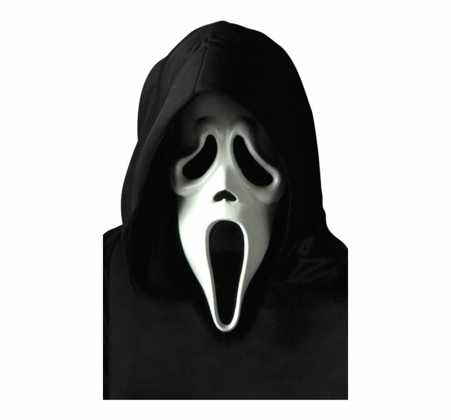 Transparent Ghostface Scream.
