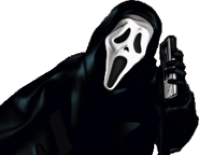 Ghostface free PNG.