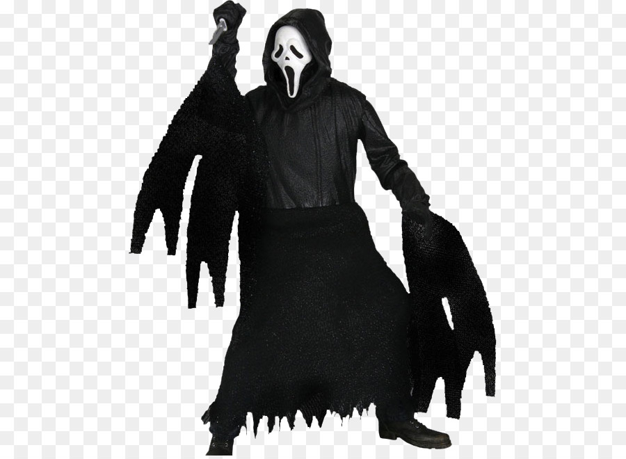 Ghostface Costume png download.