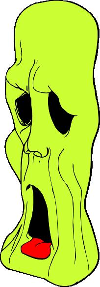 Ghoul Head clip art Free Vector / 4Vector.