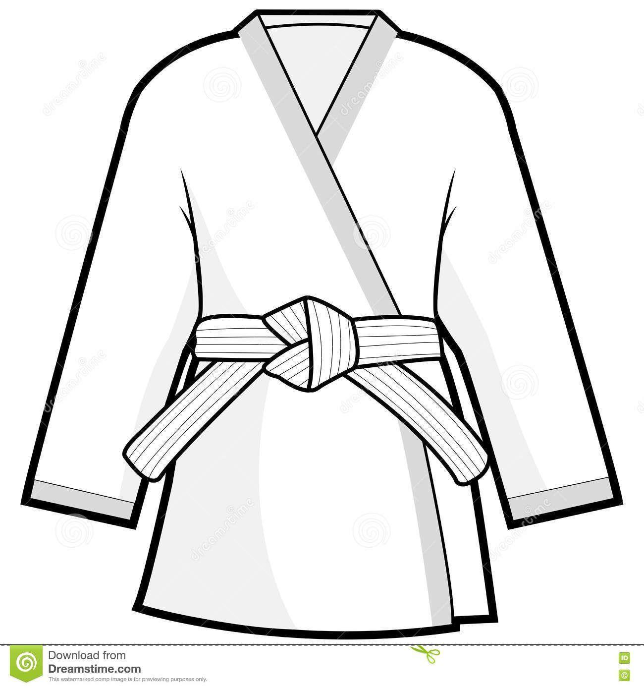 Karate gi clipart 5 » Clipart Portal.