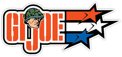 G.I JOE Gi Cobra Adventure Team Retro Vintage Logo Vynyl Sticker Decal WALL.