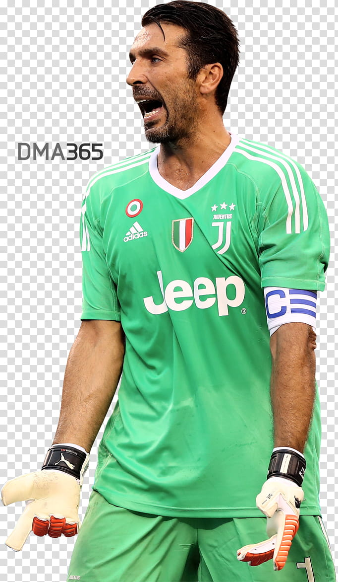 Gianluigi Buffon transparent background PNG clipart.