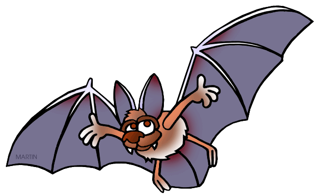 Free United States Clip Art by Phillip Martin, Virginia State Bat.
