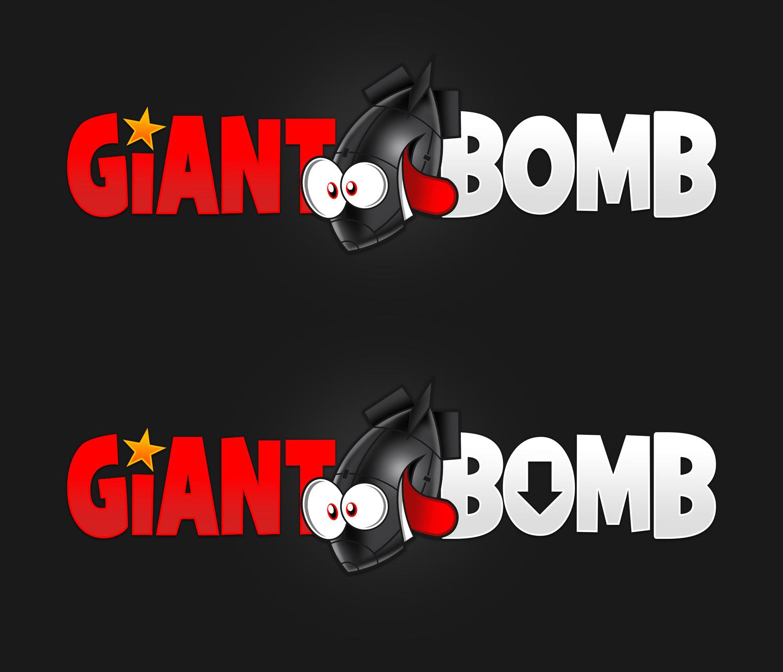 Giant Bomb Logo Concept.