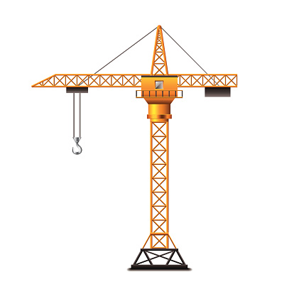 Giant Crane Clip Art, Vector Images & Illustrations.