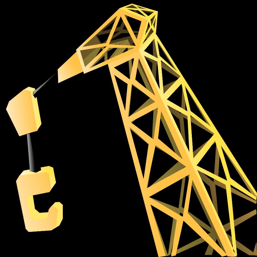 Crane Clipart, vector clip art online, royalty free design.