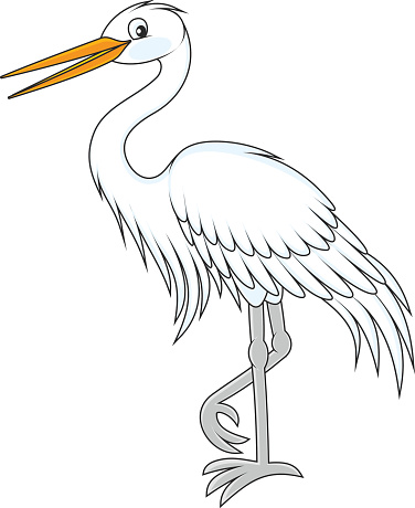 Great Egret Clip Art, Vector Images & Illustrations.