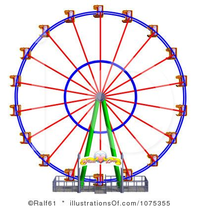 Ferris Wheel Clipart.