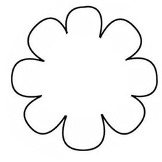 Giant flower clipart.