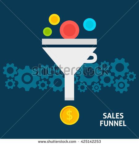 Idea Funnel Stock Photos, Royalty.