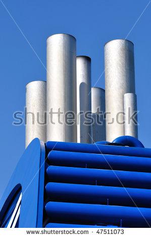 Ship Funnel Stock Photos, Royalty.