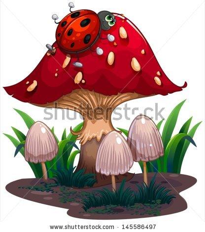 Giant Mushroom Stock Vectors, Images & Vector Art.