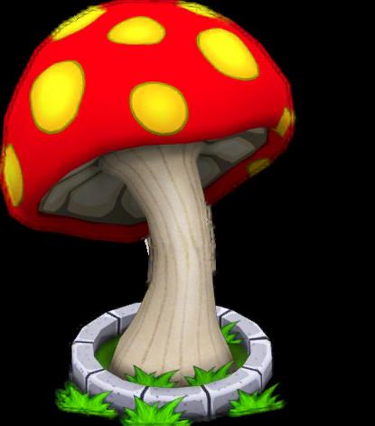 Giant Mushroom.