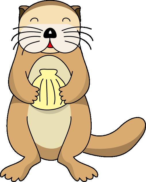 Otter Clip Art.