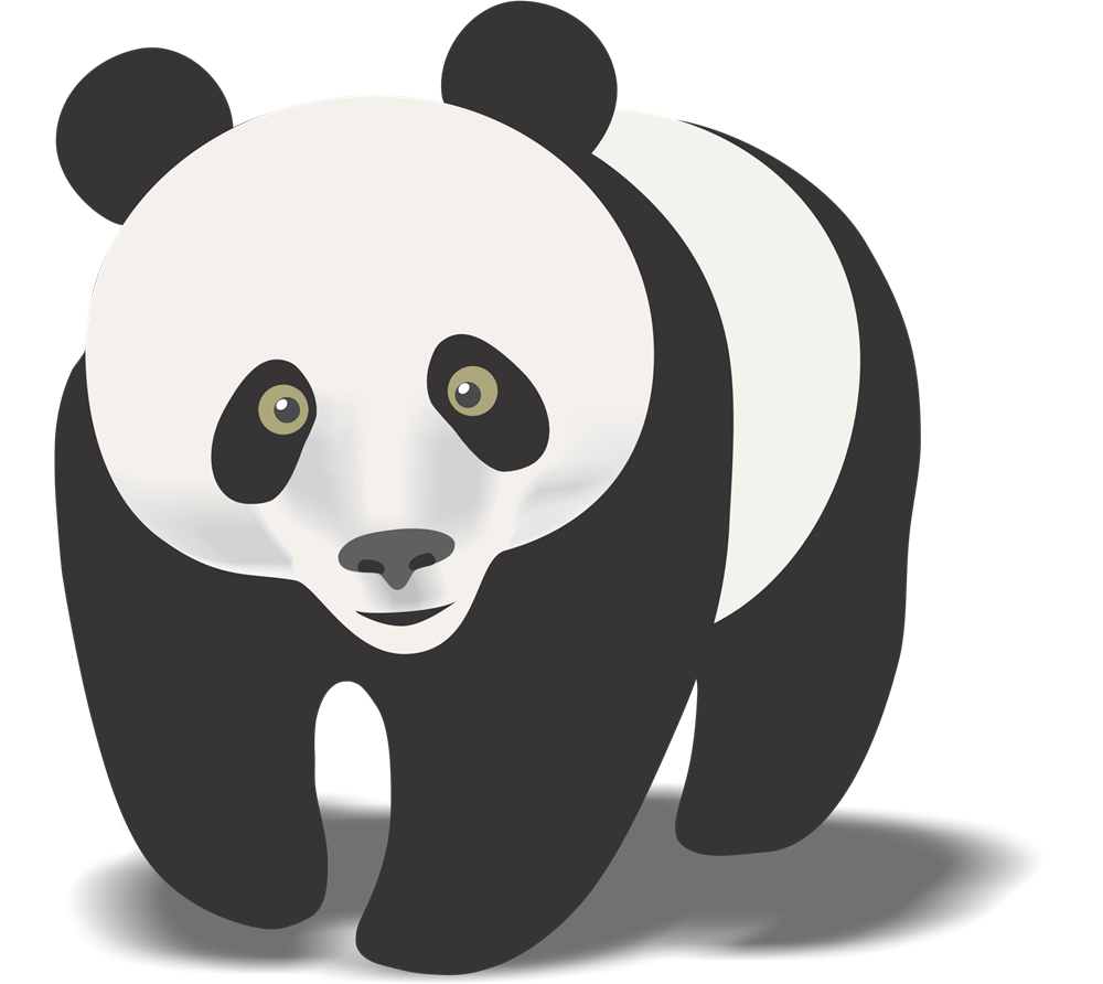 Free to Use & Public Domain Giant Panda Clip Art.