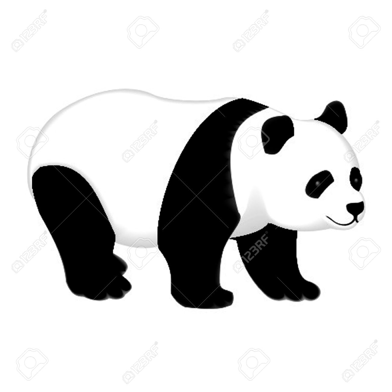 Giant panda clipart - Clipground