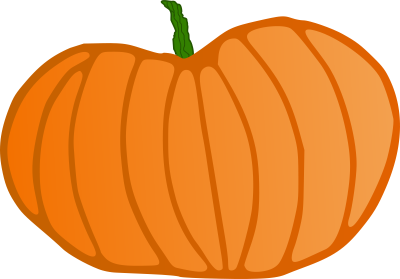 Giant pumpkin clipart.