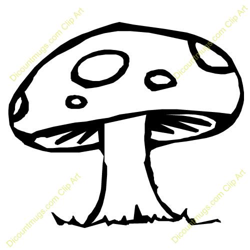 Fungus Clipart.