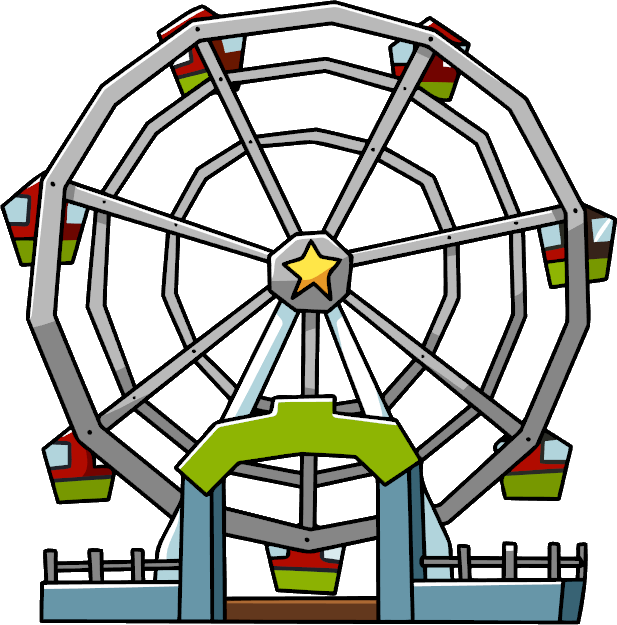 Giant Wheel PNG Clipart.